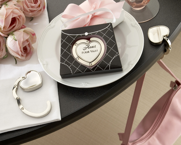 <center>&quot;Heart Purse Valet&quot; Compact Handbag Holder</center>
