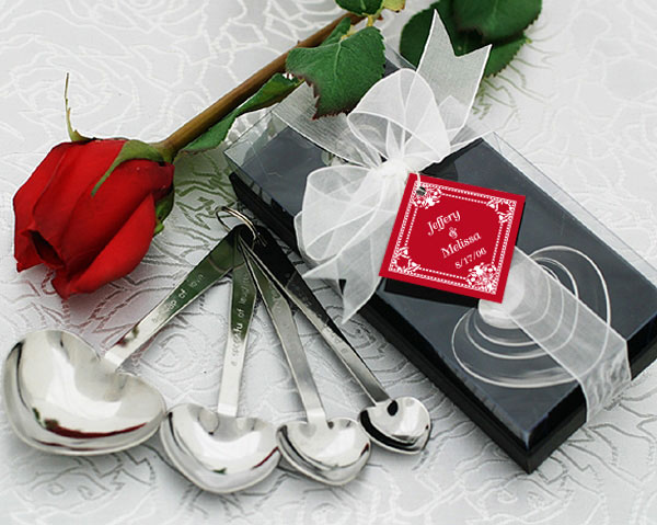 "<center>""Love Beyond Measure"" Heart Measuring Spoons</center>"