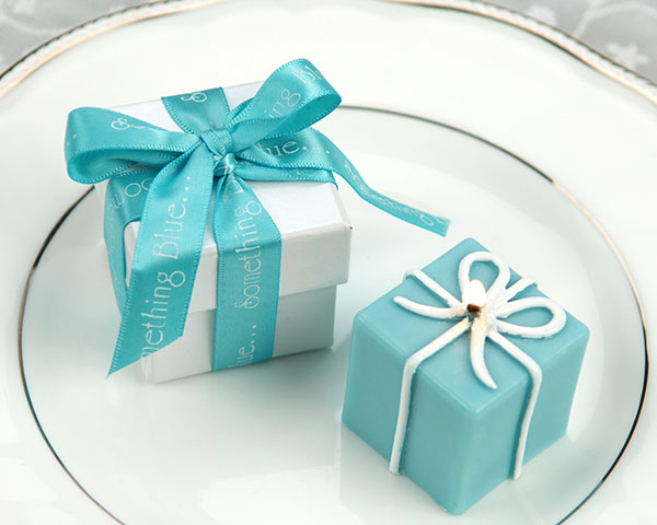 "<center>""Something Blue"" Gift Box Candle</center>"