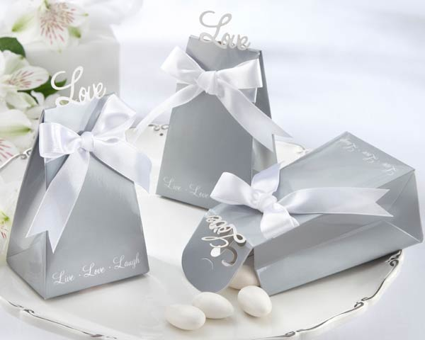 <center>�Express Your Love� Elegant Icon Favor Box (Set of 24) </center>