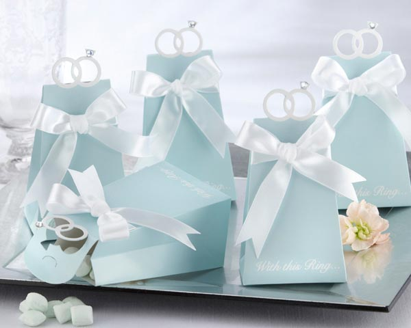 <center>�With this Ring� Elegant Icon Favor Box (Set of 24)</center>
